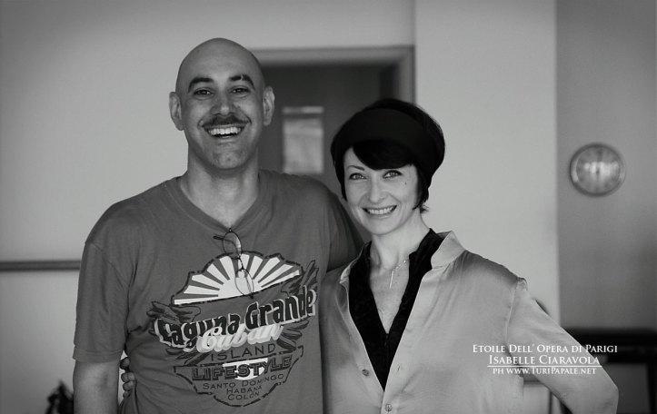 con Isabelle Ciaravola
